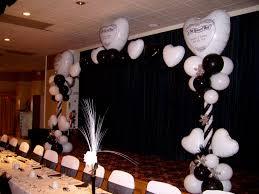 wedding table decorations black and white nice decoration idolza
