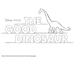 good dinosaur coloring pages getcoloringpages