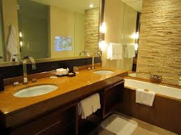 Hotel Bathroom Mirrors by Shower With Rain Showerhead U0026 Standard Showerhead Picture Of