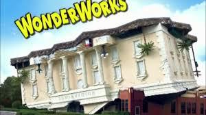 Wonderworks Upside Down House Myrtle Beach - wonderworks orlando youtube