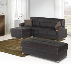 Soho Sectional Sofa Soho Sectional Sofa In Brown Bonded Leather By W Options