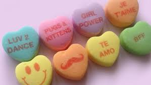 heart candy sayings candy hearts puppy and this year today