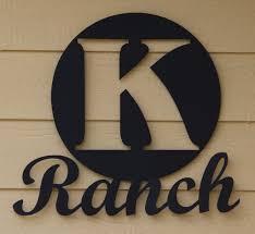 custom ranch decor wall plaque decorative wall plaque ranch