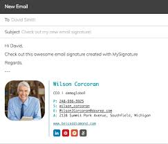 free email signature generator for outlook and gmail by mysignature