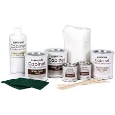 kitchen cabinet kits home depot rust oleum transformations light color cabinet kit 9