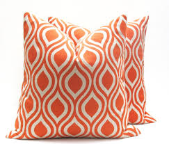 decorating astonishing orange thanksgiving 20x20 pillow covers