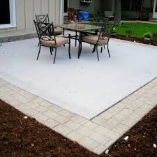 Patio Brick Calculator Exterior Concrete Patio Cost Choice For Your Patio U2014 Hmgnashville Com