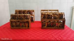portaspezie legno portaspezie in legno di ulivo in ticino acquistare