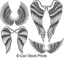 wings clipart and stock illustrations 260 122 wings vector eps