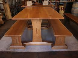 Kitchen Tables And Benches by 36 Best Trestle Farm Table And Bench Images On Pinterest Tables