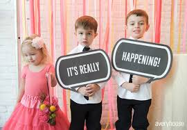 wedding sign sayings it s really happening and more amazing wedding signs bridebug