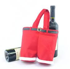2015 christmas gift santa claus pants candy treat bag cute nylon