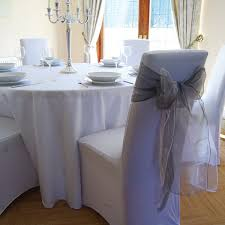 grey chair covers seat covers and sashes wedding velcromag