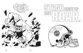 lsu tigers coloring and activity book vol 1