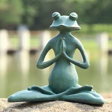 meditating frog search painting potential
