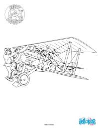 the beginnings of aviation coloring pages hellokids com