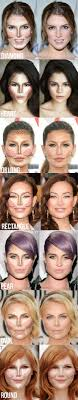 20 highlighting and contouring hacks tips and tricks that will change your life infographicsmake a differenceround facessquare