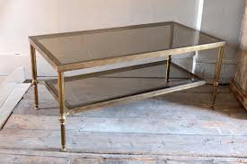 40 Inch Table 2 Tier Glass Coffee Table Material Wood Size Medium 40 Inch 47