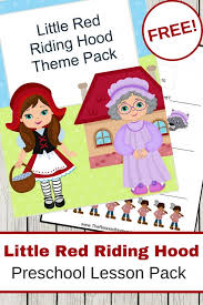 red riding hood printables crafts
