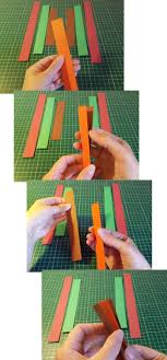 to make and do curved paper hanging decoration
