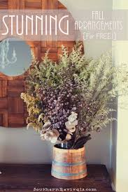 stop and smell the weeds diy gorgeous fall flower arrangements