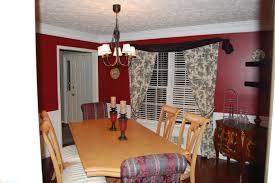 red dining room dining room makeover design ocd