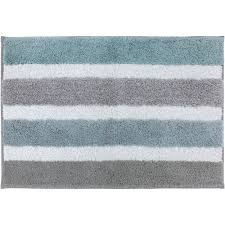 Blue Bathroom Rugs Better Homes And Gardens Stripe Bath Rug 1 U00278