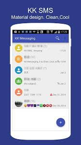 sms apk free kk sms marshmallow style sms apk thing android apps free