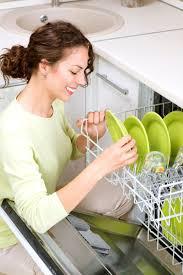 femme dans la cuisine papier peint lave vaisselle femme dans la cuisine aux travaux