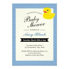 duck baby shower invitations personalized rubber duck invitations custominvitations4u