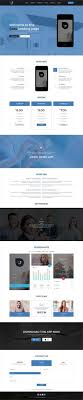 cool app websites appix creative app landing page psd template landing pages