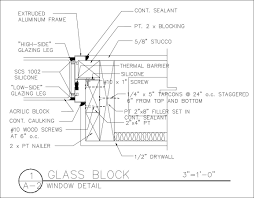 free cad details glass block detail u2013 cad design free cad blocks