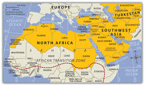 Asia Map With Countries by Map Of Southwest Asia And North Africa Roundtripticket Me