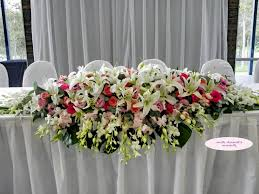 table arrangements wedding flower arrangements tables wedding party decoration
