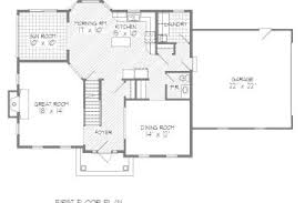 center colonial floor plan 31 colonial floor plans for small home colonial house plan 3