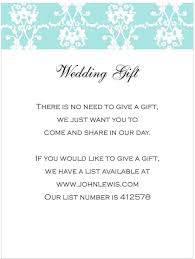 wedding gift lists wedding invitation wording gift list money new wedding invitations