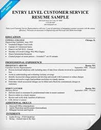 Entry Level Customer Service Resume Samples by Customer Service Resume Samples