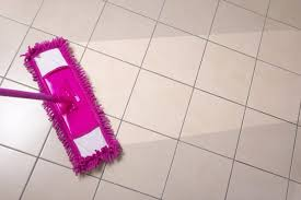 clean tile flooring peel and stick floor tile on mopping tile