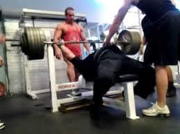 Anthony Clark Bench Press 565 Lb Bench Press John Lacomb Training Powerlifting Youtube