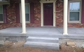 concrete porches 502 construction u0026 concrete