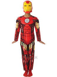 ironman halloween costume child marvel premium iron man fancy dress costume kids avengers