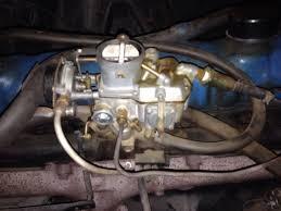 1964 1968 6 cylinder carburetor guide ford mustang forum