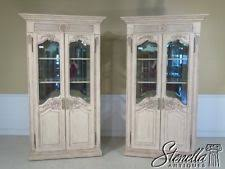 Antique Curio Cabinet With Clock Oak Antique Curio Cabinets Ebay