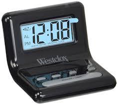 Westclox nyl47538 lcd digital bedside alarm clock