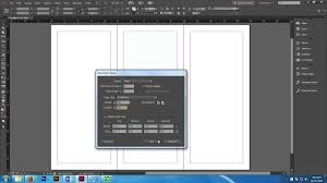 creating a book cover jacket on adobe indesign youtube