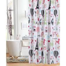 shower curtain paris paris