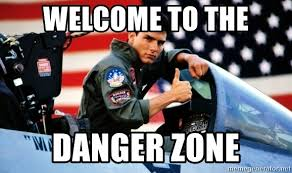 Meme Zone - welcome to the danger zone tom cruise top gun meme generator