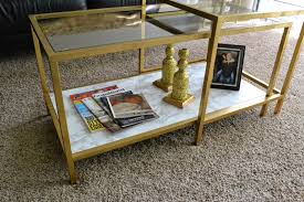 Ikea Nesting Tables by Olive Lane Ikea Vittsjo Shelving Unit Hack Sort Of Ikea Vittsjo