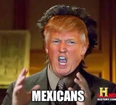 Aliens Guy Meme Generator - donald trump is the new host of ancient aliens imgflip
