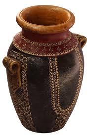 Wholesale Flower Vase Bulk Wholesale Handmade 10 U201d Black U0026 Red Colored Flower Vase In